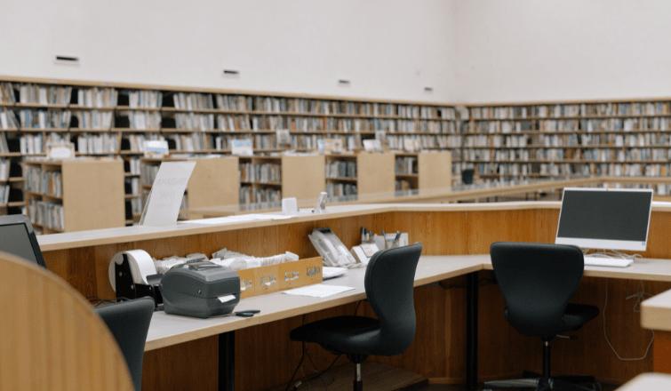 Sprzęt do bibliotek