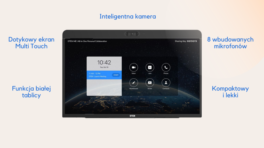 DTEN ME- monitor All-In-One